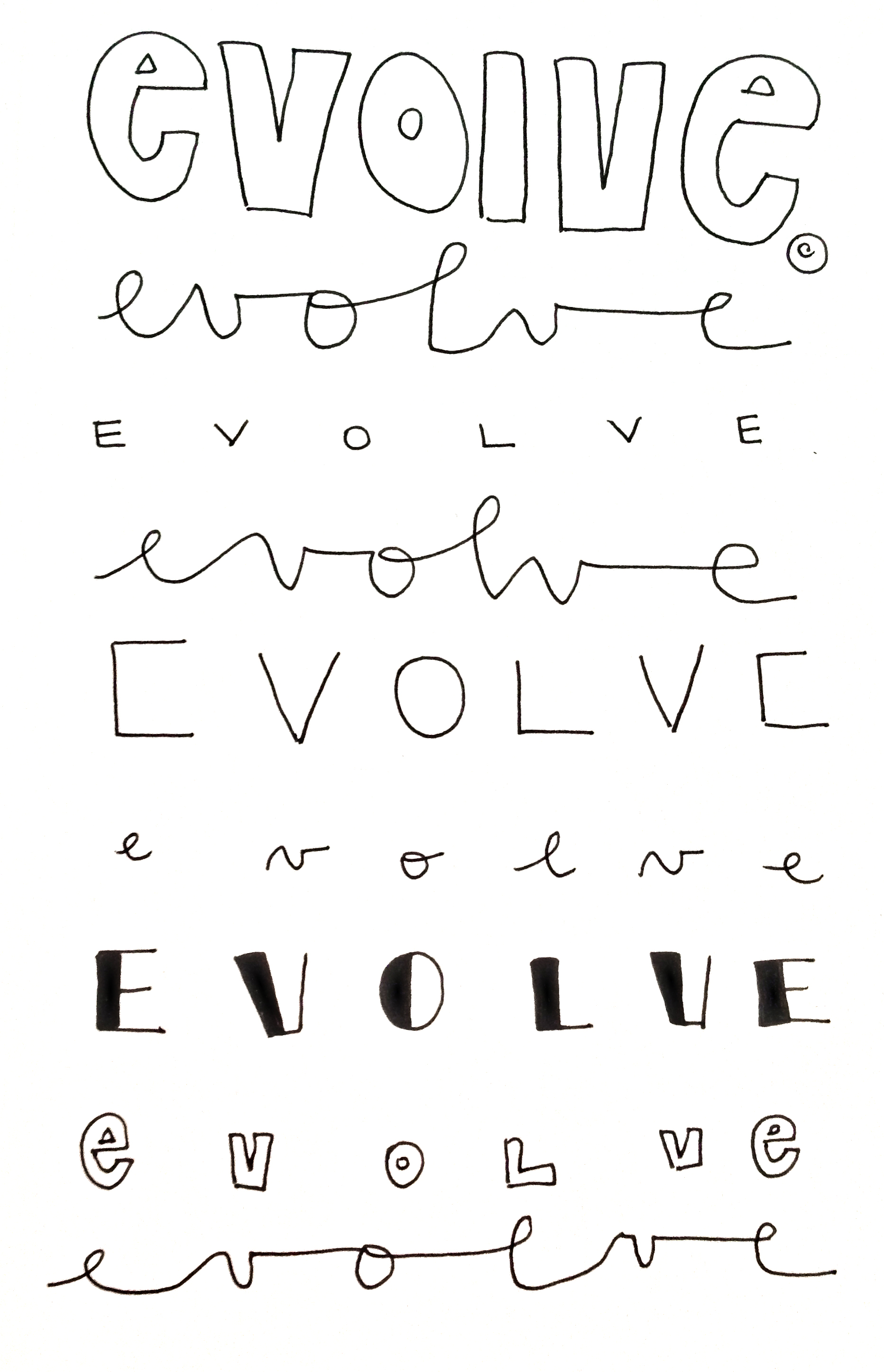 evolve. theninaproject1